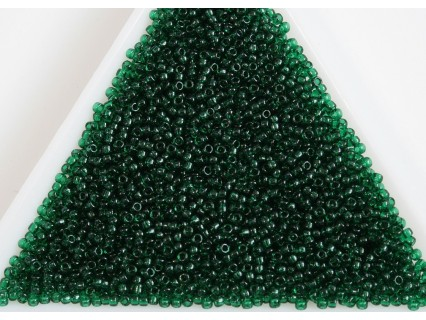 Toho R15-939, Transparent Green Emerald, 5g