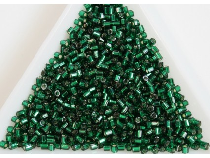 Toho H11-36, Silver-Lined Green Emerald, 10g