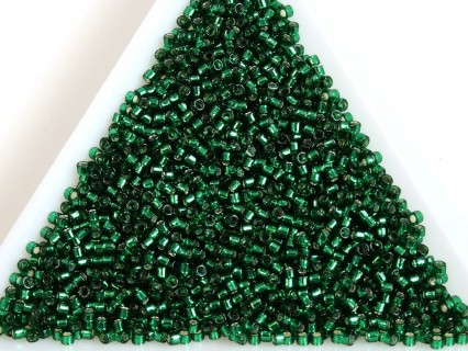 TOHO Treasure TT1-36, Silver-Lined Green Emerald, 5g