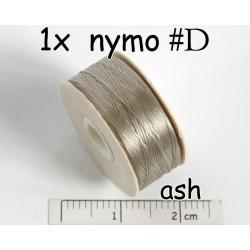 Nymo D ash | cenusiu, bobina 58.5m ( 1 bucata )