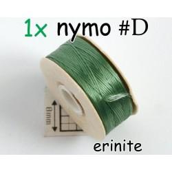 Nymo D erinite | verde albastrui, bobina 58.5m ( 1 bucata )