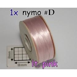 Nymo D lt pink | roz, bobina 58.5m ( 1 bucata )