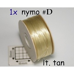 Nymo D lt tan•|crem, bobina 58.5m ( 1 bucata )