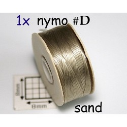 Nymo D sand | bej, bobina 58.5m ( 1 bucata )