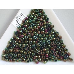 Toho R8-508, Higher-Metallic Iris Olivine, 10g
