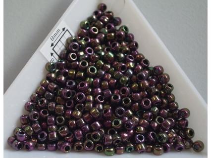 Toho R8-509, Higher-Metallic Purple/Green Iris, 10g