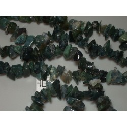 Chipsuri agate moss cca 6-9mm