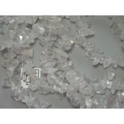 Chipsuri cuart cristal clar cca 6-8mm, sirag 90cm
