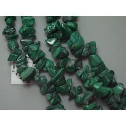 Chipsuri malachit cca 6-8 mm chp-34