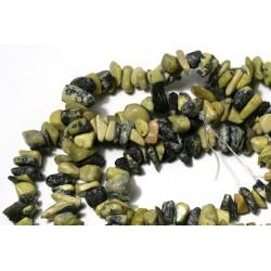 Chipsuri 'turcoaz' galben, 6-8mm, sirag 90cm