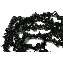 Chipsuri onix negru, 6-8mm, sirag 90cm