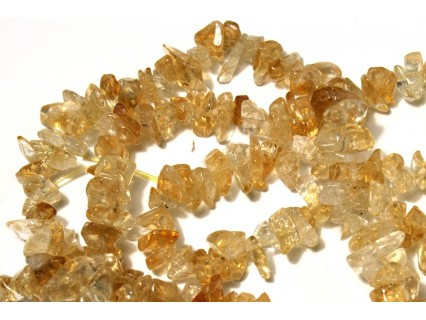 Chipsuri citrin, 6-8mm, sirag 90cm