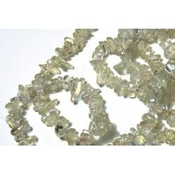 Chipsuri sticla, cu irizatii, 6mm, sirag 88cm