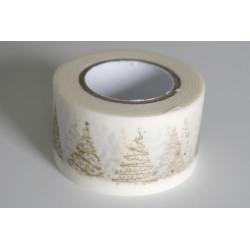 Banda adeziva decorativa, latime cca 25mm - rola 10m