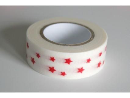 Banda adeziva decorativa, latime cca 15mm - rola 10m