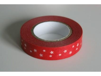 Banda adeziva decorativa, latime cca 10mm - rola 10m
