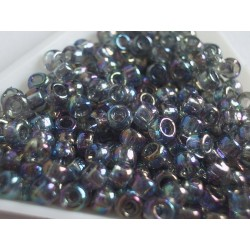 Toho R6-176, Trans-Rainbow Black Diamond,10g