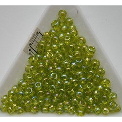 Toho R6-164, Trans-Rainbow Lime Green, 10g
