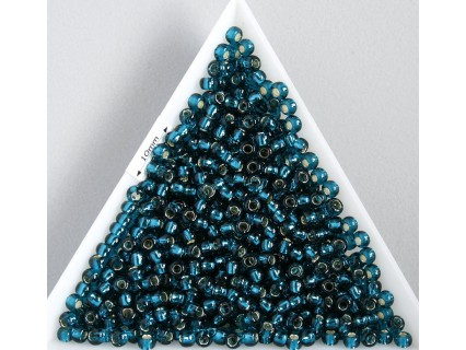 Toho R11-27BD, Silver-Lined Teal, 10g