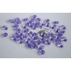 Tw08 margele PRECIOSA Twin 2.5x5mm, crystal purple lined, 5g