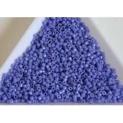 Delica DB661 - Dyed Opaque Bright Purple, margele Miyuki Delica11 - 5g