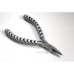 "Cleste cu varful rotund-concav 130 mm - ""Zebra"" Wire Loopling Plier (1 bucata)"
