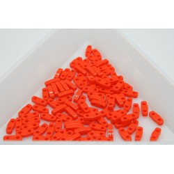 QTL406 - margele Miyuki Quarter Tila 5x1.2x1.9mm, Opaque Orange, ~2g