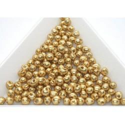 DP4202 - margele Miyuki Drop 3.4mm, Duracoat Galvanized Gold, 5g