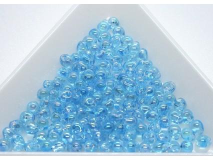DP260 - margele Miyuki Drop 3.4mm, Trans Light Blue AB, 5g