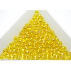 DP252 - margele Miyuki Drop 3.4mm, Trans Yellow AB, 5g