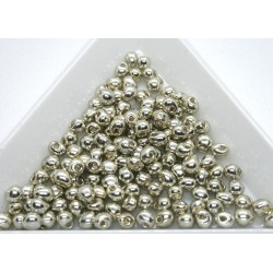 DP181 - margele Miyuki Drop 3.4mm, Galvanized Silver, 5g