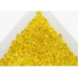 DP6 - margele Miyuki Drop 3.4mm, Trans S/L Yellow, 5g