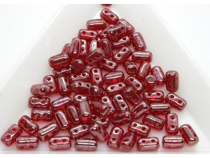 Margele Rulla 3x5mm, Luster - Siam Ruby, 5g