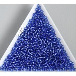 Toho R11-35, Silver-Lined Sapphire, 10g