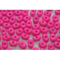 Margele Farfalle 3.2x6.5mm, Neon Pink (5g)