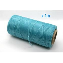 Linhasita - fir poliester cerat 0.75mm, Turquoise, x1m