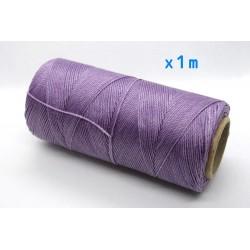 Linhasita - fir poliester cerat 0.75mm, Lilac, x1m