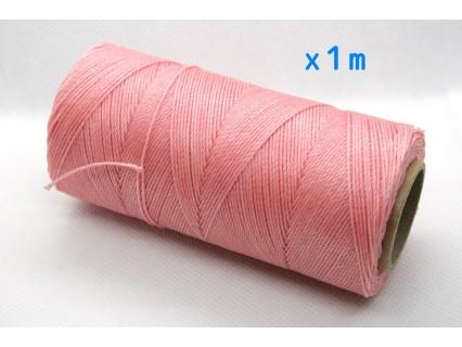 Linhasita - fir poliester cerat 0.75mm, Salmon, x1m