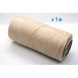 Linhasita - fir poliester cerat 0.75mm, Sand, x1m