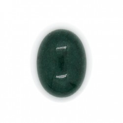 Cabochon oval 18x13mm mountain jade - verde x1