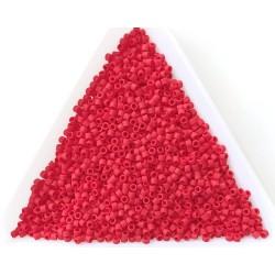 Delica DB753 - Matte Opaque Red, margele 11/0 Miyuki Delica, 5g