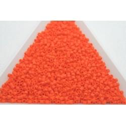 Delica DB752 - Opaque Orange Matted, margele 11/0 Miyuki Delica, 5g