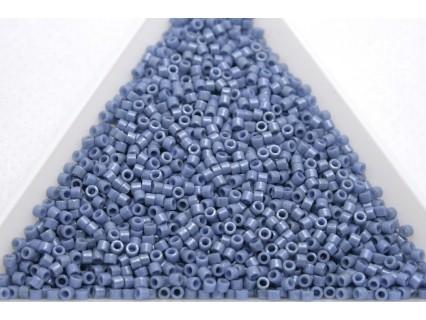 Delica DB266 - Opaque Denim Blue Luster, margele 11/0 Miyuki Delica, 5g