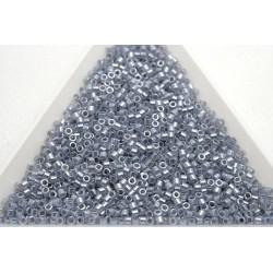Delica DB242 - Lined Crystal Grey, margele 11/0 Miyuki Delica, 5g