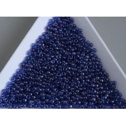 Toho R11-361, Inside-Color Dark Aqua/Violet Lined, 10g