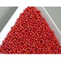 Toho R11-405, Opaque-Rainbow Cherry, 10g