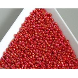 Toho R11-405, Opaque-Rainbow Cherry, 10g