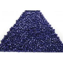 Delica DB2144 - Duracoat Matted Opq Dyed Cobalt, margele 11/0 Miyuki Delica, 5g