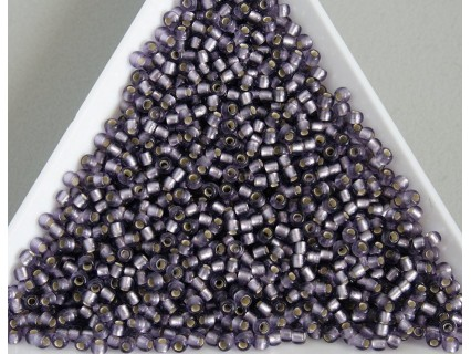 Toho R11-39F, Silver-Lined Frosted Lt Tanzanite, 10g