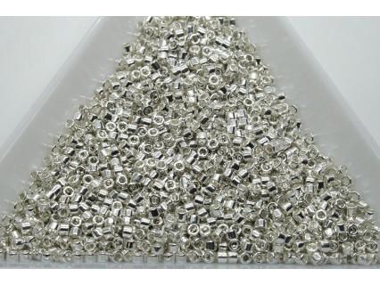 Delica DB551 - Silver Plated, margele 11/0 Miyuki Delica, 2g